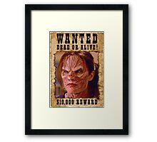 Buffy Anya Emma Caulfield 3 Wanted Framed Print