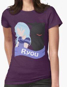 YuGiOh Hikaris and Yamis Bakura version Womens Fitted T-Shirt