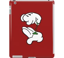 Mickey Hands Weed iPad Case/Skin