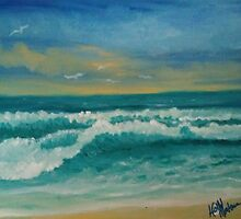 July Waves by Holly Martinson