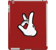 Mickey Hands Finger Up iPad Case/Skin
