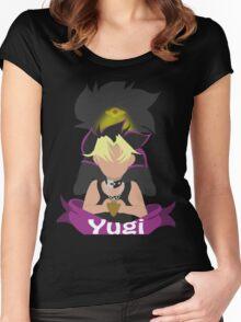 YuGiOh Hikaris and Yamis Yugi version Women's Fitted Scoop T-Shirt