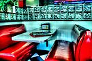 Route 66 Diner by Kim McClain Gregal