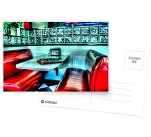 Route 66 Diner Postcards