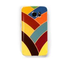modern chic multi-colored chevron Samsung Galaxy Case/Skin