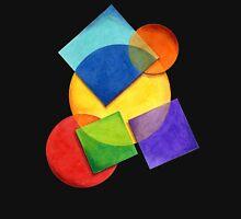 Rainbow Candy Geometric Unisex T-Shirt