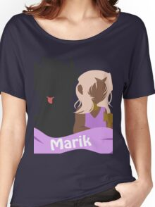 YuGiOh Hikaris and Yamis Marik version Women's Relaxed Fit T-Shirt