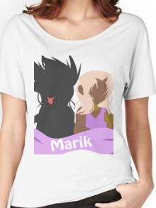 YuGiOh Hikaris and Yamis Marik version Women's Relaxed Fit T-Shirt