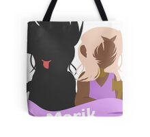 YuGiOh Hikaris and Yamis Marik version Tote Bag