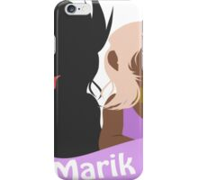 YuGiOh Hikaris and Yamis Marik version iPhone Case/Skin