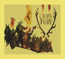 House Baratheon - Ours is the Fury - Yellow by Bergami