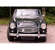 Austin-Healey cabriolet/confirteble Photographic Print