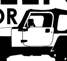 Will Fix Jeeps for Beer Sticker