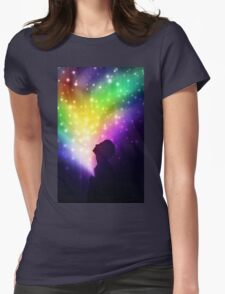 Inside You A Universe Womens Fitted T-Shirt