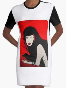 Forgotten Graphic T-Shirt Dress