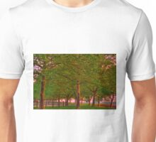 Seabrook Road Treeline at Dawn Unisex T-Shirt