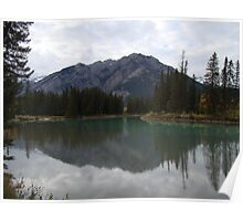 Bow River Calm Poster