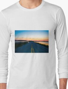 Nothing Behind Me Long Sleeve T-Shirt
