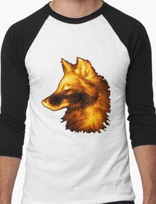 Gold wolf Men's Baseball ¾ T-Shirt