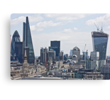 From Gherkin to Walkie-Talkie Canvas Print