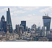 From Gherkin to Walkie-Talkie Photographic Print