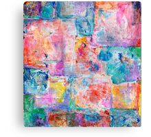 Abstract patchwork #1 Canvas Print