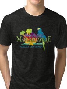 jimmy buffett's margaritavill - panama city beach Tri-blend T-Shirt