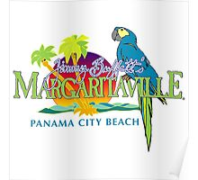jimmy buffett's margaritavill - panama city beach Poster