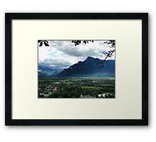 Alps Near Salzburg Framed Print