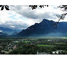 Alps Near Salzburg Photographic Print