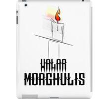 Game of Thrones - Valar Morghulis iPad Case/Skin