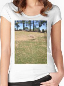 Perfect Bird Collection #1 - Bird from Florida, USA Women's Fitted Scoop T-Shirt