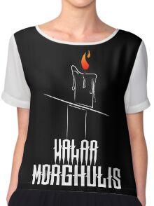 Game of Thrones - Valar Morghulis - Dark Chiffon Top
