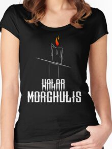 Game of Thrones - Valar Morghulis - Dark Women's Fitted Scoop T-Shirt