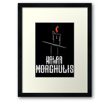Game of Thrones - Valar Morghulis - Dark Framed Print