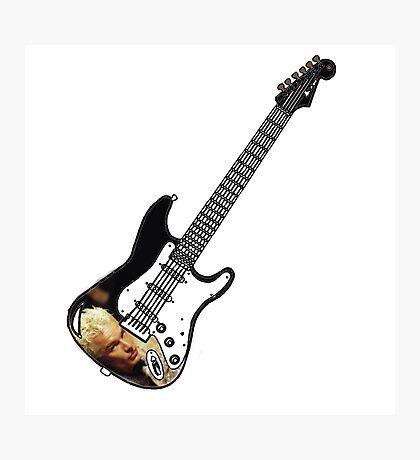 James Marsters Spike Buffy Guitar Photographic Print