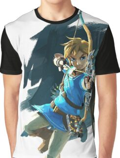 Link - The Legend Of Zelda: Breath of the Wild Graphic T-Shirt