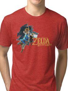 Link - The Legend Of Zelda: Breath of the Wild Tri-blend T-Shirt