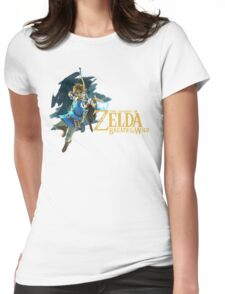 Link - The Legend Of Zelda: Breath of the Wild Womens Fitted T-Shirt