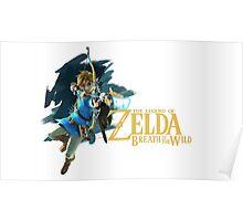 Link - The Legend Of Zelda: Breath of the Wild Poster