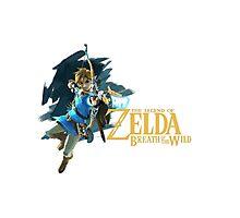 Link - The Legend Of Zelda: Breath of the Wild Photographic Print