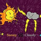 Sunny VS Cloudy by Carlos Phillips