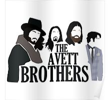 the avett brothers best vector design Poster