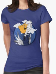 Mr. Pelican Womens Fitted T-Shirt