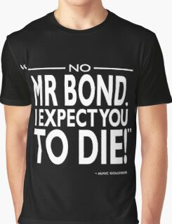 007 - I Expect You To Die Graphic T-Shirt