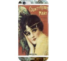 Country Kerry Mary Flapper Vintage Sheet Music iPhone Case/Skin