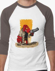 HELLSHEEP Men's Baseball ¾ T-Shirt