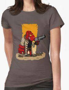 HELLSHEEP Womens Fitted T-Shirt