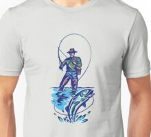 Let's Go Fishing T-Shirt Unisex T-Shirt