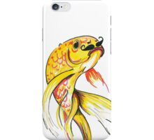 Fish with Moustache iPhone Case/Skin
